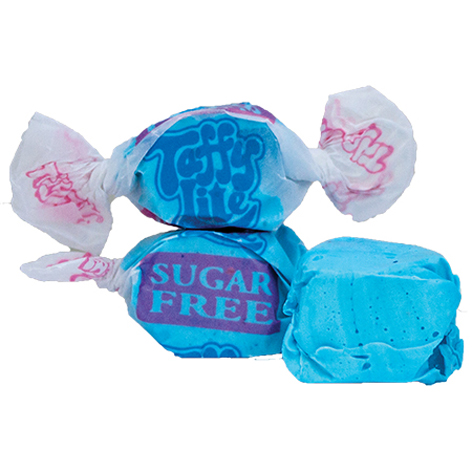 TT814 - N.S.A. Blue Rasp. Salt Water Taffy  1.14 kg