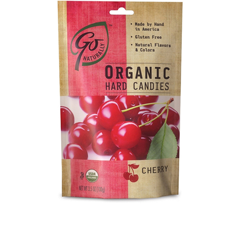 GL522 - Organic Cherry Candy 100 gm 6ct tray