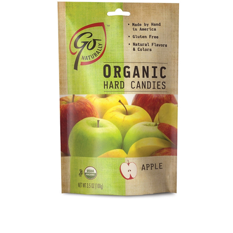 GL523 - Organic Apple Candy 100 gm 6ct tray